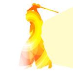 擬音で剣道の技を表現するイメージ