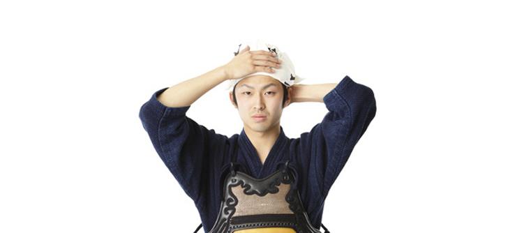 剣道場の先生