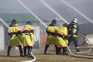 消防員イメージ