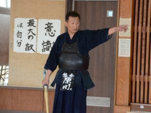 剣道部顧問イメージ