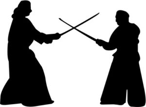 木刀の戦い