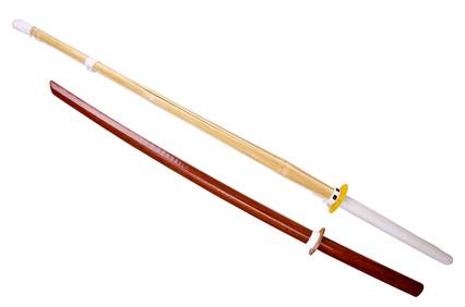 竹刀と木刀