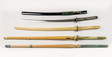 刀、木刀、竹刀