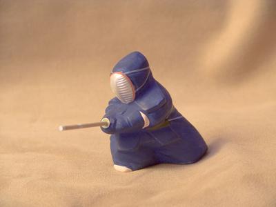 porcelain samurai